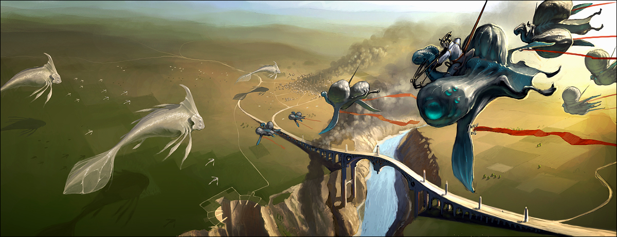 The Art Crusades (Battle 4 - Dogfight over SoulCrest Bridge,an aerial joust)